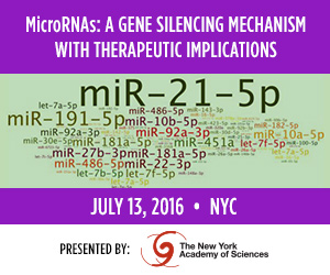 The New York Academy of Sciences - miRNA Symposium - July 2016